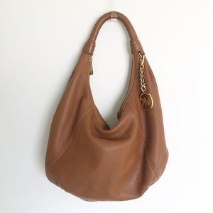 Michael Kors Slouchy Center Zip Boho Purse